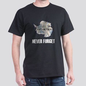 Never Forget Antarctica 1 Dark T-Shirt