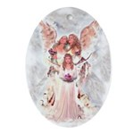 Little Angel Oval Ornament