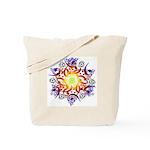 Hexa Mandala Tote Bag