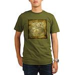 Celtic Letter S Organic Men's T-Shirt (dark)