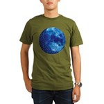 Celtic Knotwork Blue Moon Organic Men's T-Shirt (d