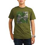 Celtic Puzzle Square Organic Men's T-Shirt (dark)
