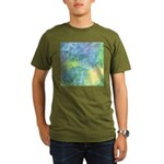 Undersea Luminescence Organic Men's T-Shirt (dark)