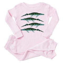 Cymbospondylus Toddler Pink Pajamas