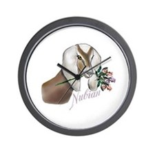 Doe with Roses Wall Clock