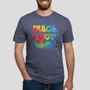 Peace Love Dogs Tiedye T-Shirt