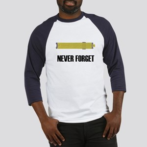 Never Forget Slide Rules 2 Baseball Jersey