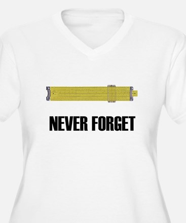 Never Forget Slide Rules 2 T-Shirt