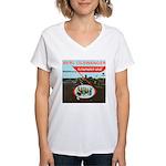 Berl Olswanger Orchestra Women's V-Neck T-Shirt