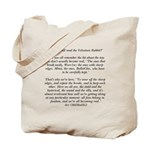 Velveteen Holiday Tote Bag