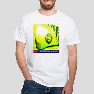 Big Yellow Fender T-Shirt (white)
