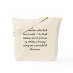 'Fandom Forecast' Tote Bag