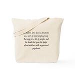 'Fanfic Psychosis' Tote Bag