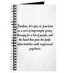 'Fanfic Psychosis' Journal