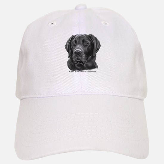 Diesel, Black Lab Baseball Baseball Cap