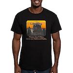 Littering kicks Buttes Men's Fitted T-Shirt (dark)