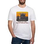 Littering kicks Buttes Fitted T-Shirt
