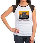 Littering kicks Buttes Women's Cap Sleeve T-Shirt