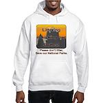 Littering kicks Buttes Hooded Sweatshirt
