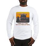 Littering kicks Buttes Long Sleeve T-Shirt
