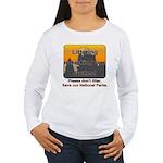 Littering kicks Buttes Women's Long Sleeve T-Shirt