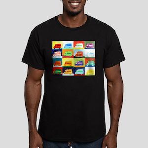 westy Men's Fitted T-Shirt (dark)