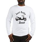 Just Gotta Scoot Helix Long Sleeve T-Shirt