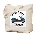 Just Gotta Scoot Helix Tote Bag