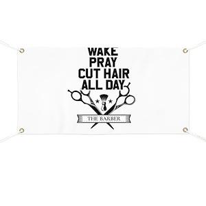 d3364bdafe9 Barbershop Banners - CafePress