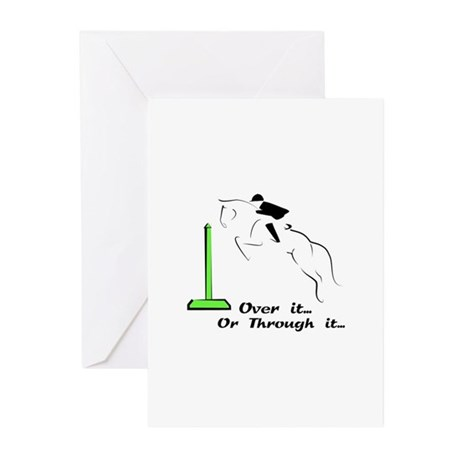 hunter/jumper Greeting Cards (Pk of 10)