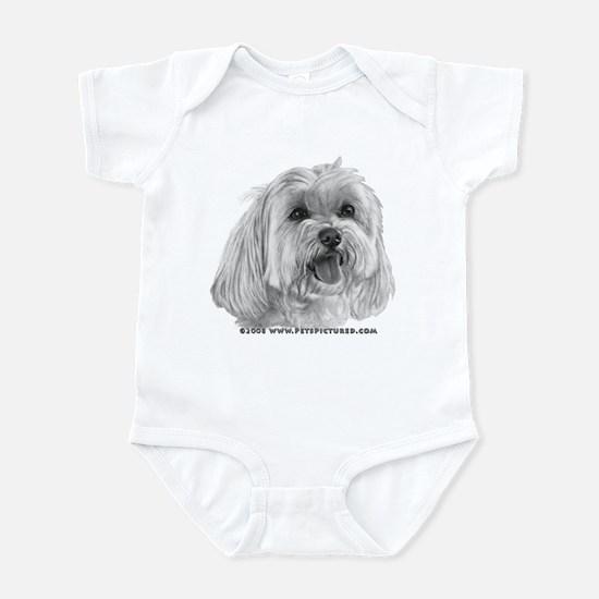 Sadie, Maltese Infant Bodysuit