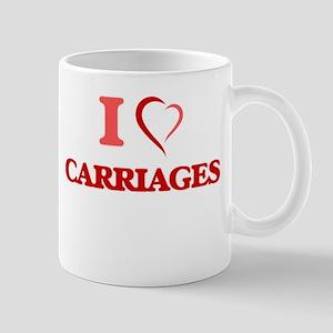 I love Carriages Mugs