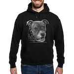 Roxy, Pit Bull Terrier Hoodie (dark)