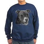 Roxy, Pit Bull Terrier Sweatshirt (dark)