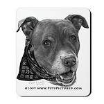 Roxy, Pit Bull Terrier Mousepad