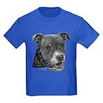 Roxy, Pit Bull Terrier Kids Dark T-Shirt