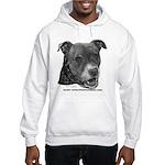 Roxy, Pit Bull Terrier Hooded Sweatshirt