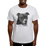Roxy, Pit Bull Terrier Light T-Shirt