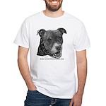 Roxy, Pit Bull Terrier White T-Shirt