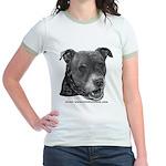 Roxy, Pit Bull Terrier Jr. Ringer T-Shirt