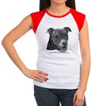 Roxy, Pit Bull Terrier Women's Cap Sleeve T-Shirt