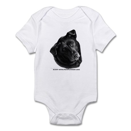 Corvis, Black Lab Mix Infant Bodysuit