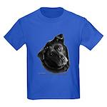 Corvis, Black Lab Mix Kids Dark T-Shirt