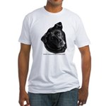 Corvis, Black Lab Mix Fitted T-Shirt