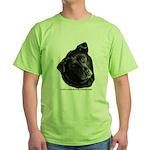 Corvis, Black Lab Mix Green T-Shirt