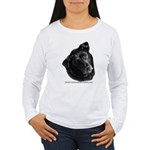 Corvis, Black Lab Mix Women's Long Sleeve T-Shirt