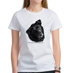 Corvis, Black Lab Mix Women's T-Shirt