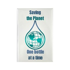 Save the Planet Rectangle Magnet (100 pack)