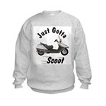 Just Gotta Scoot Helix Kids Sweatshirt