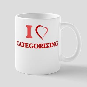 I love Categorizing Mugs